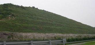 挂网喷播边坡绿化施工工艺