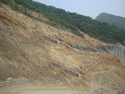 喷射混凝土边坡防护施工工艺